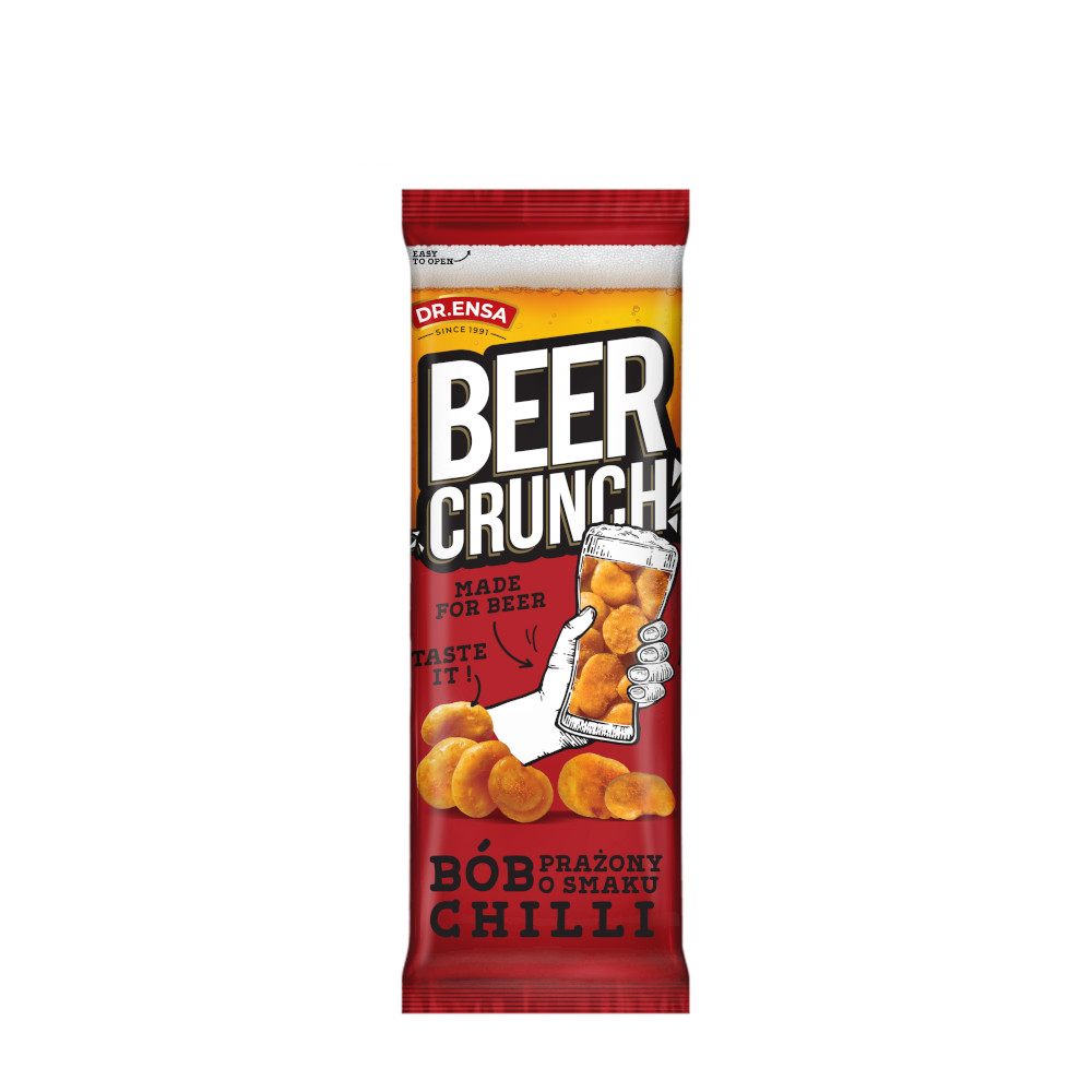 BEER CRUNCH BÓB CHIPSY PAPRYKOWE